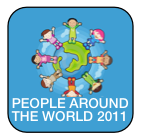 image of kids around earth image (cartoon) with people around the world 2011 click to open image